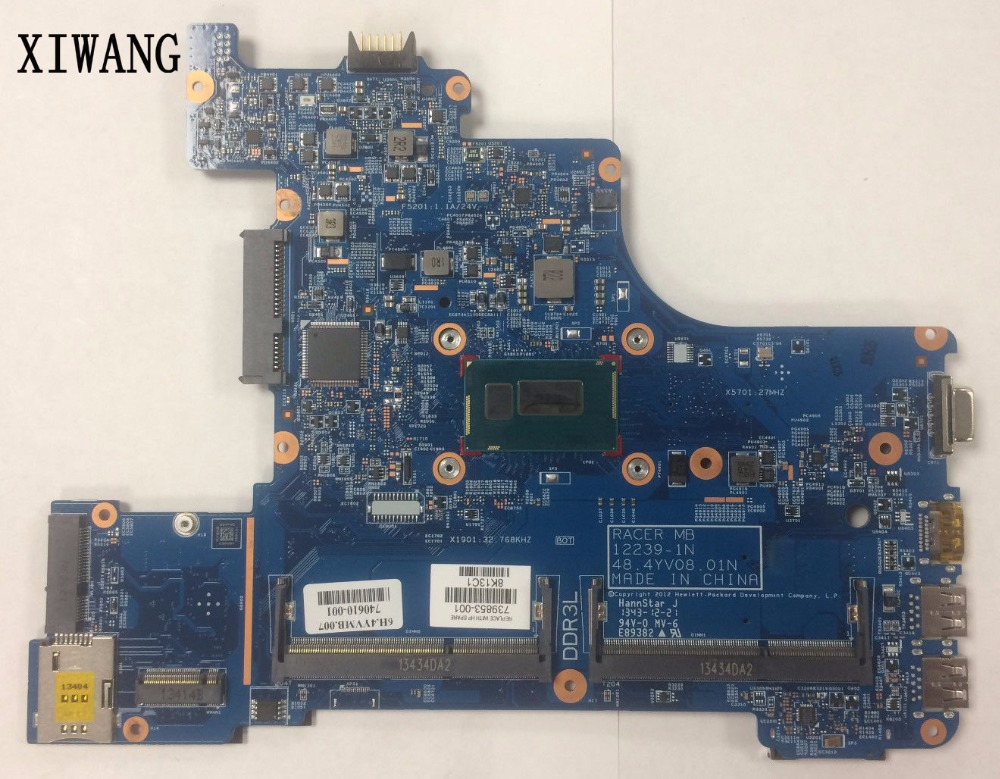 739853-001 739853-501 free shipping for HP Probook 430 G1 430-G1 motherboard 3556U CPU DDR3 laptop Motherboard 100% test good 90% new laptop cpu cooling fan for hp eliteone 800 g1 705 g1 733489 001 dfs602212m00t fc2n mf80201v1 c010 s9a 023 10006
