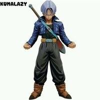 Figura Dragon Ball Trunks Figura MSP Super Saiyan Figura Cómica Versión Dragon Ball Z Goku Vegeta Figura de Acción de DragonBall Z DBZ