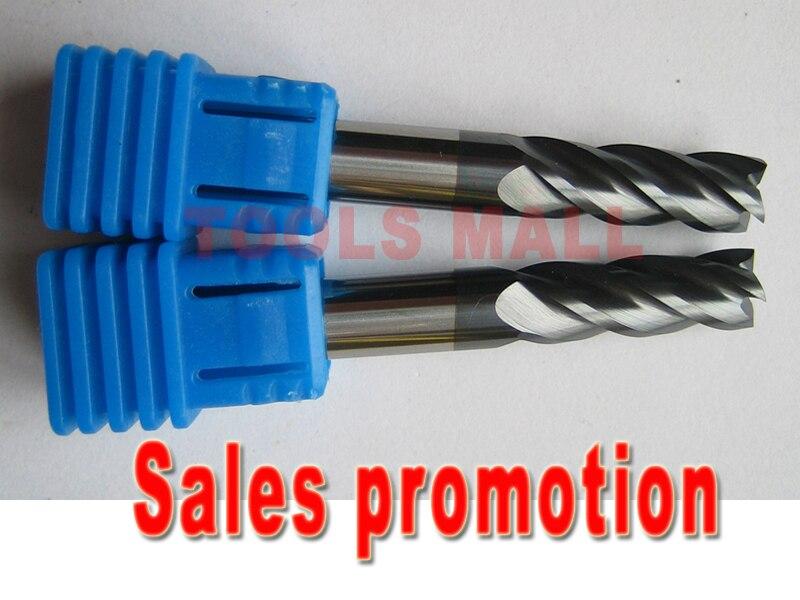 Free shipping - 2pcs 6mm D6*15*D6*50 Four Flutes Solide Carbide Flat square End mills Router bits  Spiral Bit Milling Tools ld7530pl ld7530 sot23 6