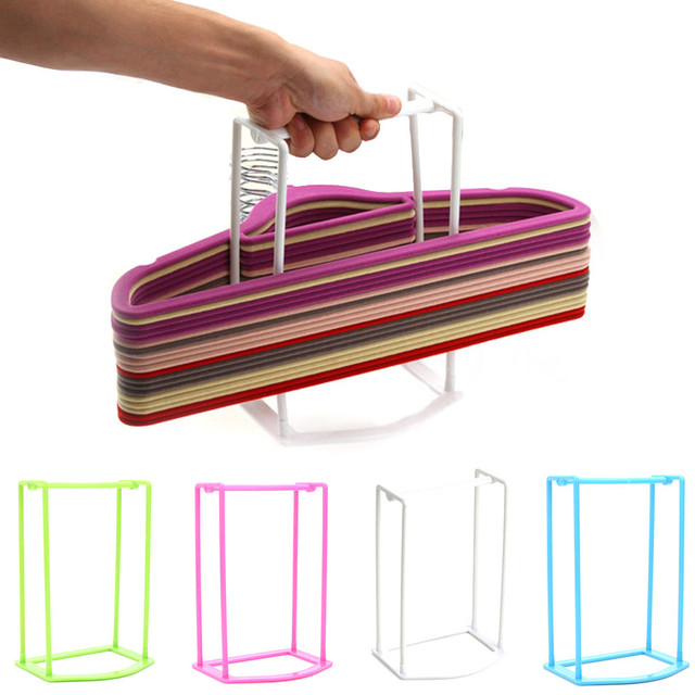 Hanger For Clothes Brand New And High Quality Very Practical Home Hanger Storage Rack Plastic Clothes Dryer Rack Hanging Holder