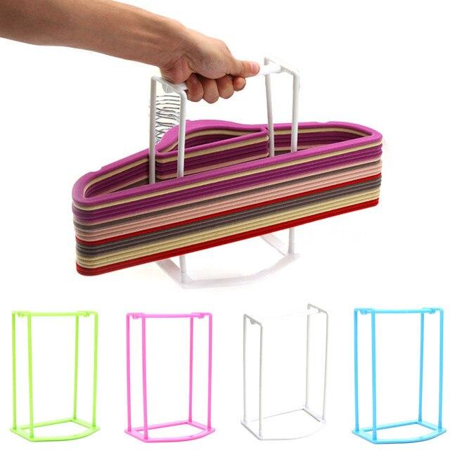 Percha para ropa a estrenar y de alta calidad muy práctica percha para el hogar estante de almacenamiento de plástico secador de ropa soporte para colgar