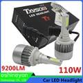 Super Bright Car Light Source 110W 9200LM Auto LED Headlight H1 H3 H4 H7 H8 H9 H11 9004 9005 9007 H13 Replace Halogen& HID Bulbs