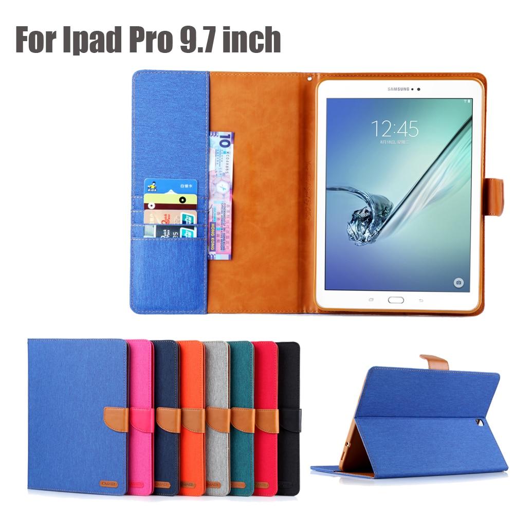 Жан ТПУ чехол для Apple iPad Pro 9.7 дюймов Baby Safe жесткий чехол Складная подставка с слот для карт iPad Pro 9.7 + Стилусы ручка