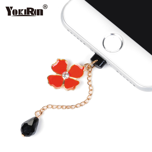 wholesale dealer 5cea9 9c5ee US $1.32 10% OFF|YOKIRIN Charging Port Diamond Dust Plug Stopple Anti dust  Plugs for Apple iPhone 6 6s 7 8 plus X Protection Set Phone Gadgets-in Dust  ...