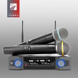 YUEPU RU-U230 Professional UHF microphone wireless Karaoke system