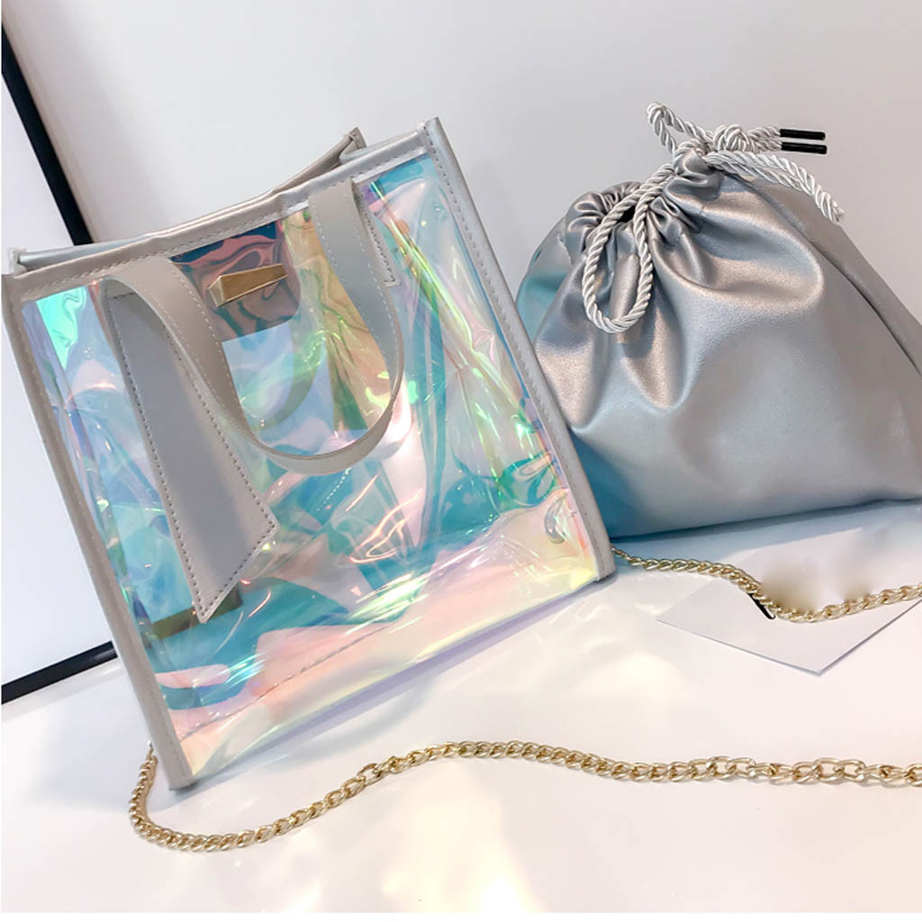 Rainbow Hologram Handbag