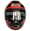 Shoei helmet motorcycle helmet full face double lens helmet material Abs Pc Genuine safety helmet free shipping