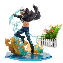 Anime One Piece Luffy Zoro Sanji Shanks Sabo Ace Law PVC Action Figure Battle Ver Great Collectible Model Gift Toy цена в Москве и Питере