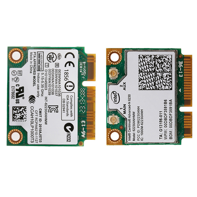 Wireless Mini Universal Dual Band Intel 6230 62230ANHMW 300 WiFi BT PCI-E Card