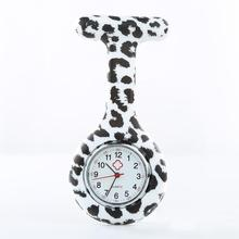 Арабские цифры Verpleegster Horloge круглый БИАЛ силиконовый медсестры карманные часы брошь куртка брелок карманные часы Reloj Enfermera капли