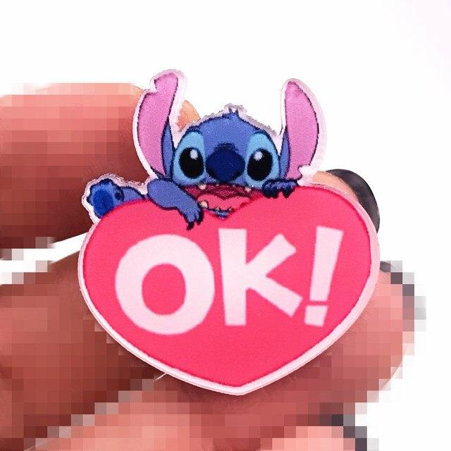 Nuovo Arrivo 1 PCS Del Punto Del Fumetto Acrilico Spilla Little Monster Icona Distintivo di Buona Qualità Spille Per I Regali Per Bambini Decorazione vestiti