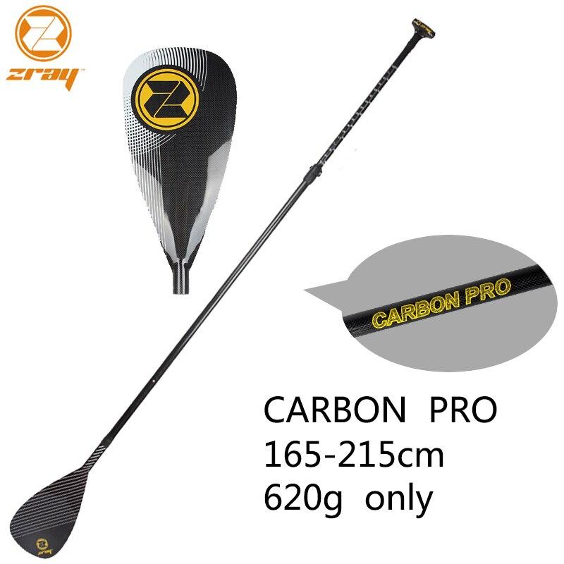 Z RAY 165-215cm SUP noir plein carbone pagaie rame SUP stand up paddle board surf léger pesé bateau pneumatique
