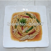 Customize food model Tuna pasta dishes made to order simulation model fake food model sample dishes Spaghetti Noodle and Pasta