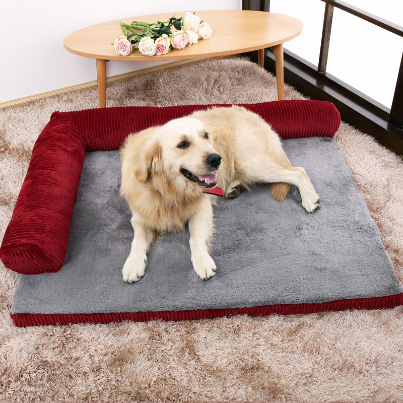 Pet Dog Cat Cushion Sofas Removable Beds Washable Soft Dog House Bed For Small Middle La ...