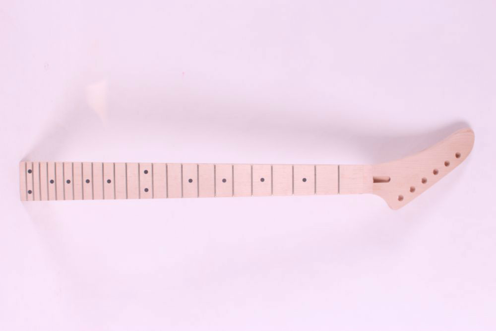 one   648mm 25.5 inch  electric guitar neck maple made and maple  fingerboard Bolt on 24 fret 22 fret 648 mm 25 5 inch unfinished electric guitar neck maple made and rosewood fingerboard model 1pcs 3