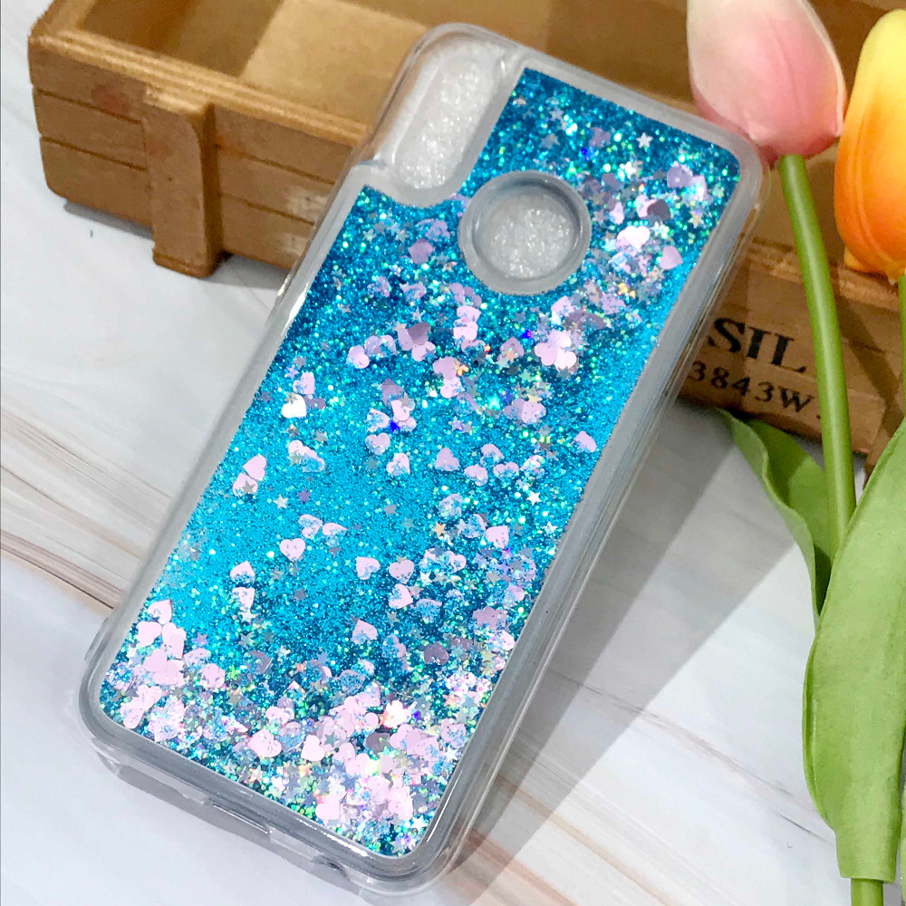 P20 Case Liquid Glitter Case For Huawei P20 Coque Huawei P20 Pro Dynamic Quicksand Star Soft Tpu Cover For Huawei P20pro Funda 100% Guarantee Phone Bags & Cases