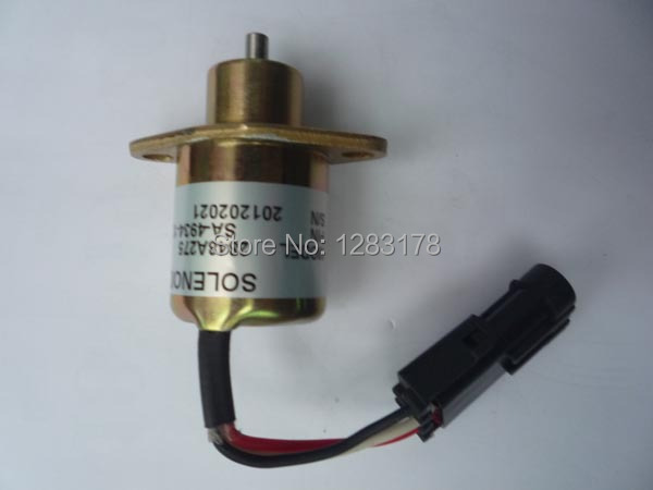 Wholesale SA-4934 / SA-4934-24 Fuel Shutdown Solenoid Valve for PERKINS 24V HYSTER UB704 ENGINE fuel shutdown solenoid valve 153es 2212480 sa 4269 12 12v for mitsubishi komatsu wa320 3 kubota