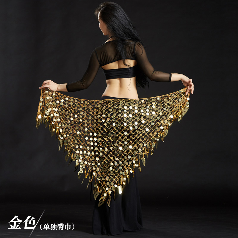 Bellydance Hip Scarves Scarf Dancing Indian Waist Chains Mermaid Sequin Belly Oriental Eastern Dance Belts Costumes For Womens