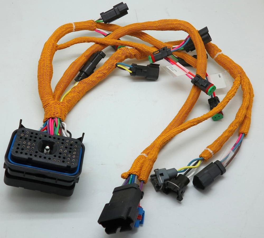 excavator diesel engine parts 195 7336 wiring harness for rh aliexpress com caterpillar to detroit wiring harness caterpillar c9 wiring harness