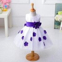 Baby Flowers Tutu Dress For Girl Wedding Little Princess Children S Girl Costume For Kids Tulle