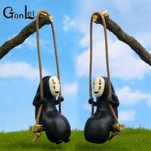 GonLeI Anime Studio Ghibli Spirited Away No Face Man Action Figure Miyazaki Hayao Kaonashi Model 8cm Decoration Doll Kids Toys