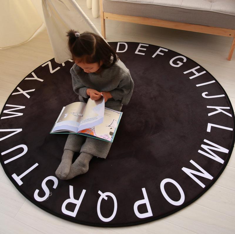 Alphabet Carpet Rugs Children Play Mat