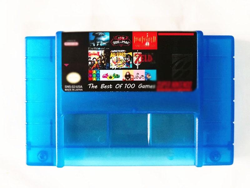 Super 100 in 1 Spiele mit FINAL FANTASY ICH, II III IV VI Castlevania Dracula X Castlevania IV Schluss Kampf I, II III