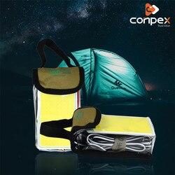 Przenośne oświetlenie 12V 2000 żarówka LED lumen COB Camping lekki namiot światła latarka wisząca latarenka podstawa magnetyczna akumulator