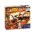 LEWEIHUAN 10370 Star Wars Building Blocks Juguetes Attack of the Clones Hailfire Droid Exclusivo Establece Ladrillos Regalos