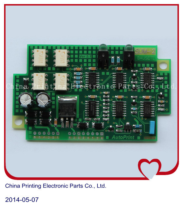 1 Piece free shipping SUM2 61.110.1341/01 amplifier circuit board for offset CD102 SM102 printing machine parts1 Piece free shipping SUM2 61.110.1341/01 amplifier circuit board for offset CD102 SM102 printing machine parts