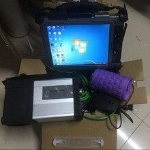 V12. программное обеспечение DTS EPC для Mb Star C5 SD Compact 5 в 480 ГБ SSD и используется Xplore IX104 I7 8G для диагностики авто звезды
