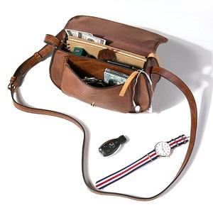 Image 5 - Модная сумка через плечо AFKOMST и маленькая сумка кошелек для женщин, винтажная Сумка седло и сумка через плечо высокого качества CT20154