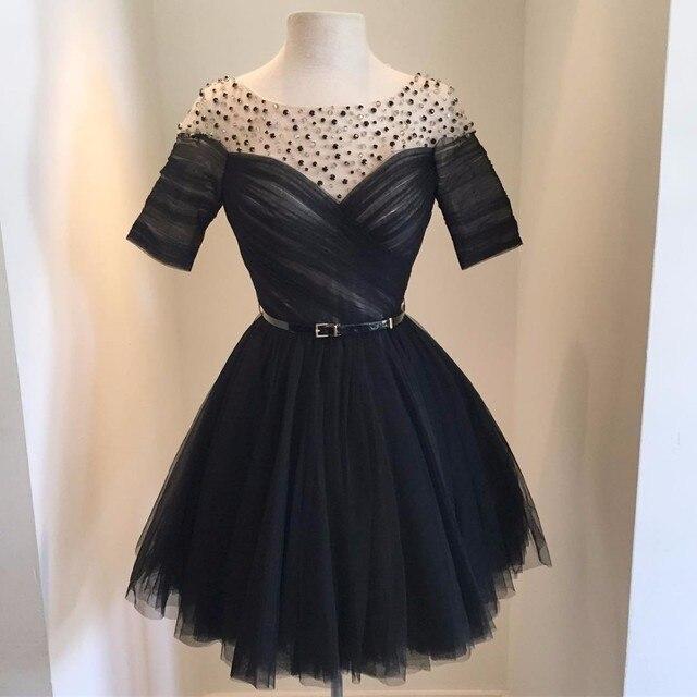 Vestidos de fiesta para jovenes negro