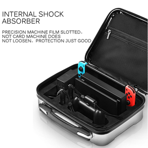 Image 4 - Bolsa para Nintend consola Switch NS caso al aire libre de viaje de almacenamiento caja de la cáscara del ABS maleta para Nitendo accesorios de interruptor