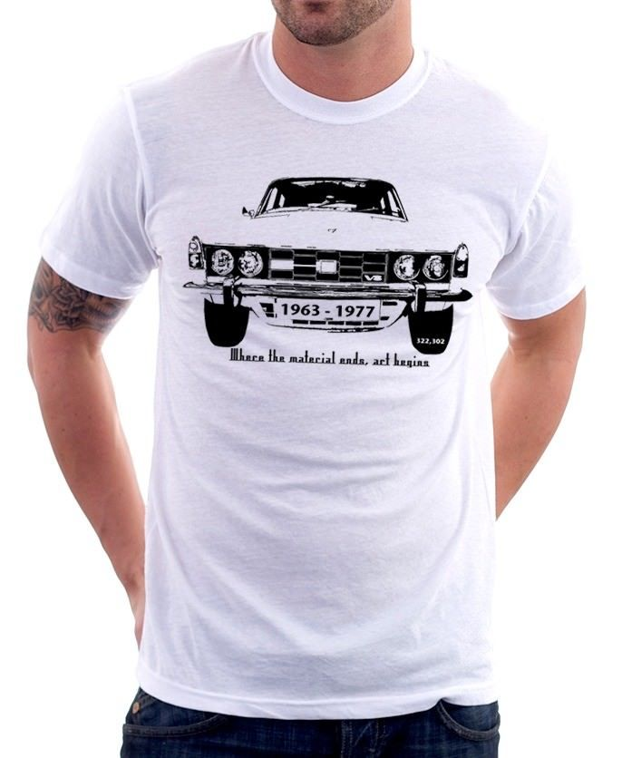 2019 Hot sale Fashion ROVER P6 <font><b>V8</b></font> 3500L classic car retro printed <font><b>tshirt</b></font> fn9482 Tee shirt image