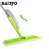 BAISPO Multifunctionele Spray Water Mop Hand Wassen Plaat Mop Thuis Hout Vloertegel Keuken Huishoudelijke Vloer Schoonmaken Tool