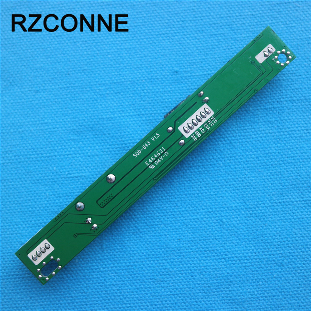 Универсальный светодиодный Подсветка инвертор драйвер платы booster Вход 12 В Выход 20 В-80 В для 15-24 дюймов ЖК-дисплей мониторы с 6pin кабель
