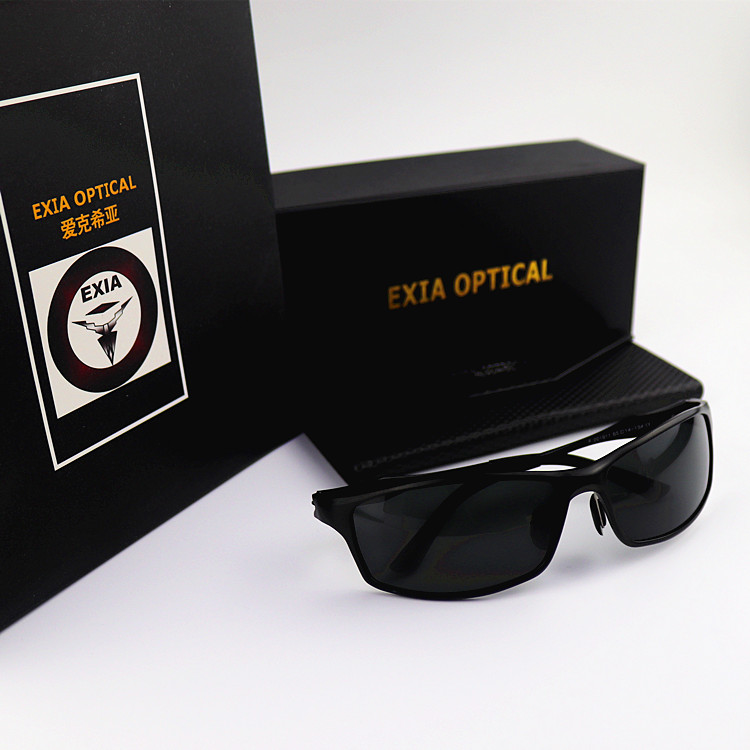 123d981a420 Polarized Sunglasses Prescription Optical Lenses Eyewear RX Customized CR 39  Ophthalmic Lenses EXIA OPTICAL KD 117 Series-in Sunglasses from Apparel ...