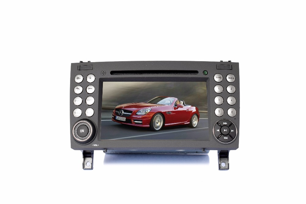 S190 touch screen android 7 1 car dvd player for Benz SLK class wifi 3G device