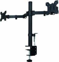Suptek Fully Adjustable Dual Arm LCD LED Monitor Desk Mount Stand Bracket For 13 27 Screens