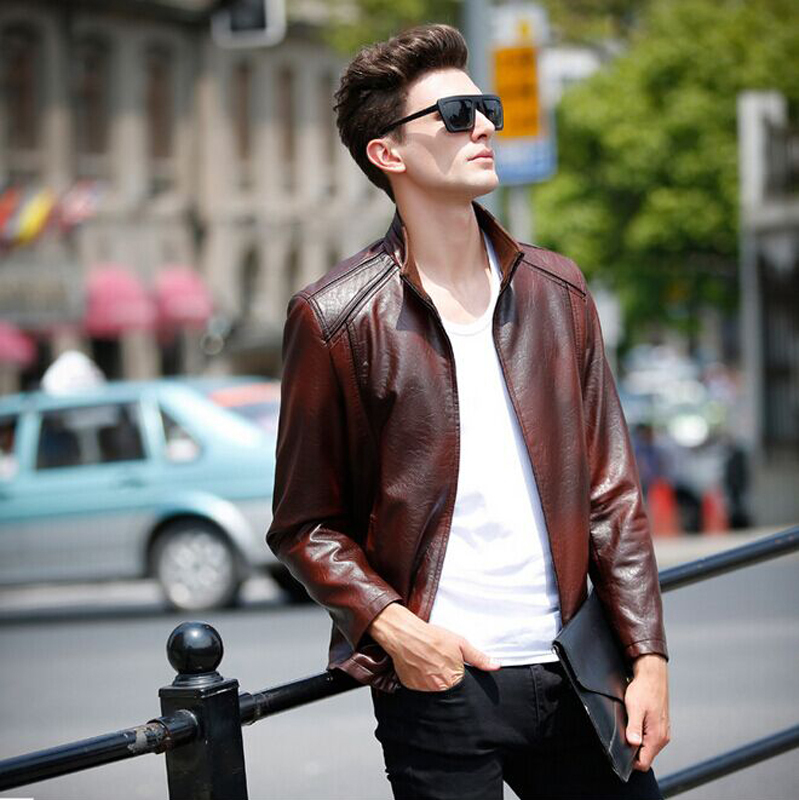 Leather jackets for young guys – Modern fashion jacket photo blog