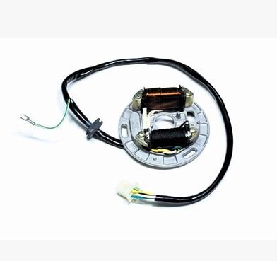 Starpad Мотоцикл превращается Магнитная обмотки статора CG125-8/11/12/18 уровня для жемчуг речной для honda ...