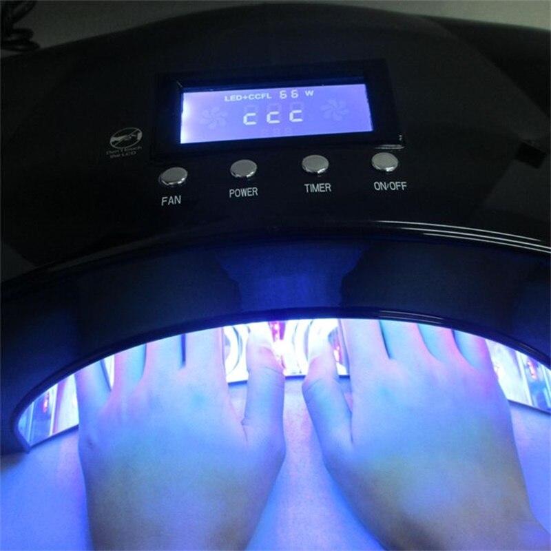 2018 новейший ногтей инструменты солнце УФ светодиодный светильник 66 Вт CCFL Сушилка для ногтей машина для лечения УФ гель светодиодный гель но...