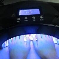 2018 новые инструменты для ногтей Солнце УФ светодио дный Светодиодная лампа 66 Вт CCFL Сушилка для ногтей машина для лечения УФ гель светодио дн...