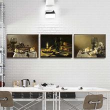 Home Decoration Art Wall Pictures Fro Living Room Poster Print Canvas Paintings Netherlandish Pieter Claesz