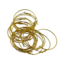 20pcs 50mm Round Beading Hoop Loop Leverback Earring Findings for Making Earring 20pcs 0 36