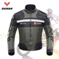 DUHAN Motorcycle Jacket Men Moto Jacket Protective Clothing Motorcycle Racing Jackets Body Armor Protective