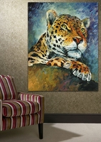 Leopard Home Decor Wall Painting Printed On Canvas Art Modern Canvas Painting
