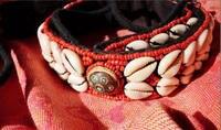 hdc0632 стороны тибетских шили в виде ракушки пояс леди ремень разноцветный декор