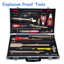 Antiscintilla Instruments of Combination Sets – 36pcs Copper Alloy Hand Tools ex Proof and Safety